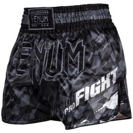 Muay Thai Venum Tecmo Shorts - Gray