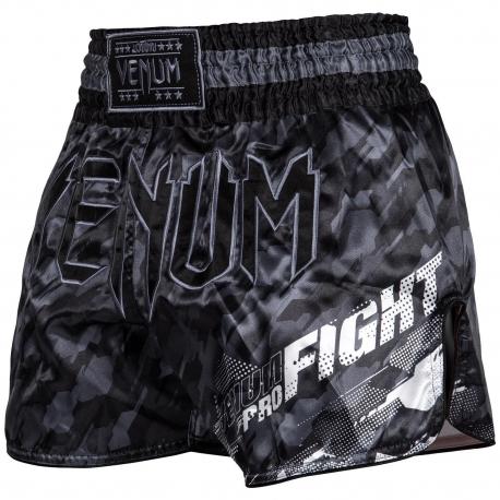 Muay Thai Venum Tecmo Shorts - Gray
