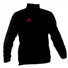 Adidas black fleece jacket