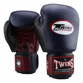 BOXING GLOVES TWINS SPECIAL BLUE / BURGUNDY