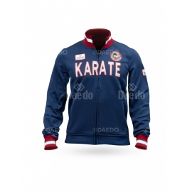 "Slim Jacket Daedo ""KARATE"" Navy Blue"