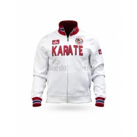 WKF Slim Jacket Karate White
