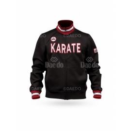 WKF Slim Jacket Karate Black
