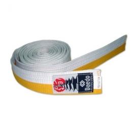 Belt White-Yellow Daedo
