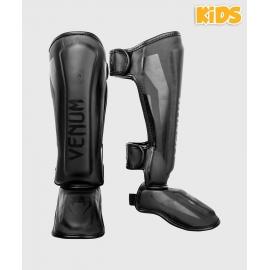 VENUM ELITE SHIN GUARDS KIDS - EXCLUSIVE - BLACK/BLACK