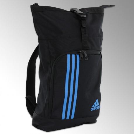 Sac training militaire noir/bleu adidas