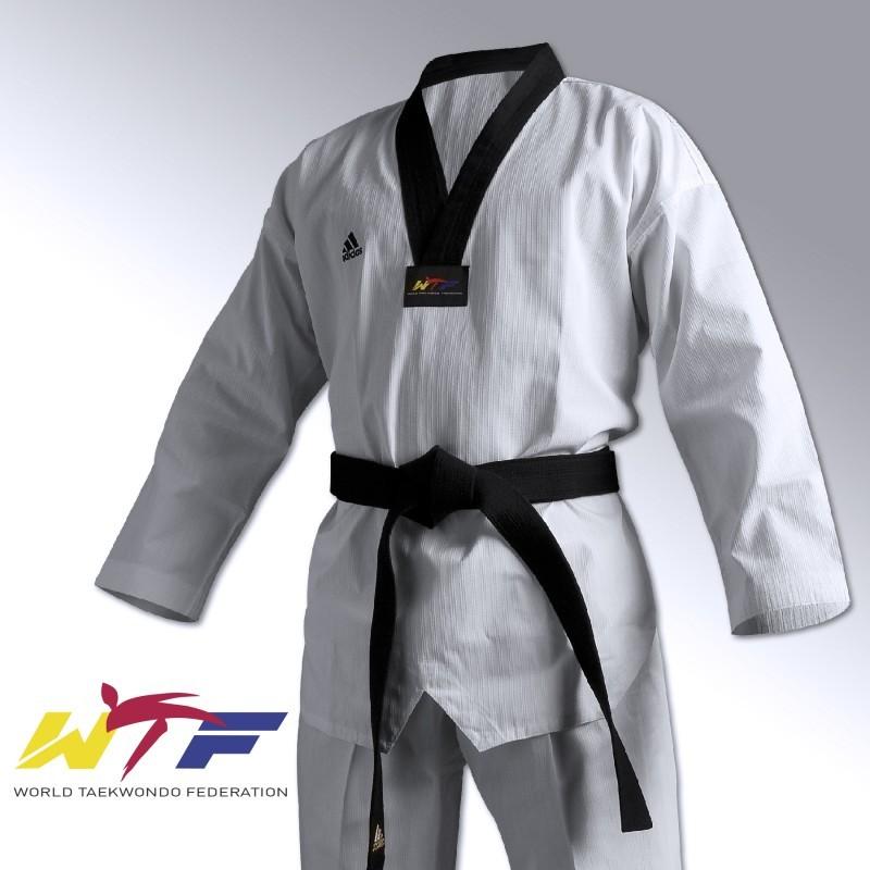 Dobok taekwondo Adi Champion II adidas sur adisport.be