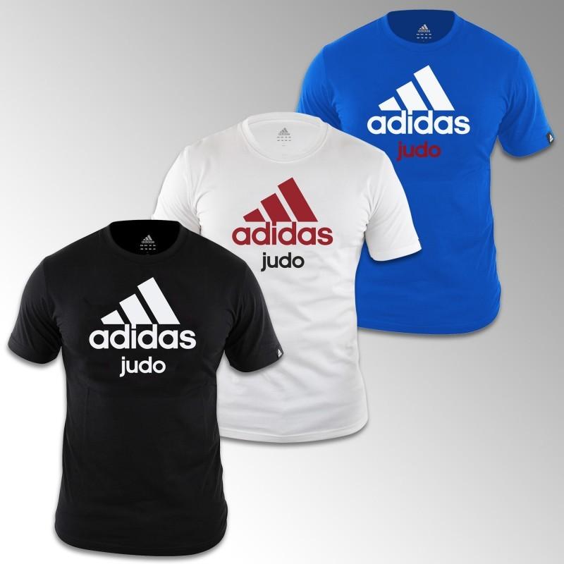 5751b03f03332 T-shirt judo adidas - Adisport