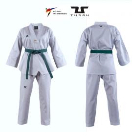Tusah Dobok Starter WT Approved White collar