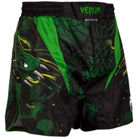 Fightshort Venum Green Viper - Noir/Vert