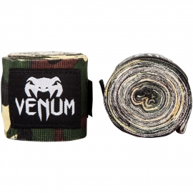 Bandes de boxe Venum Kontact - 2,5m - Forest Camo
