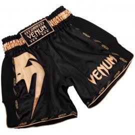 Short Muay Thai Venum Giant - Noir/Doré