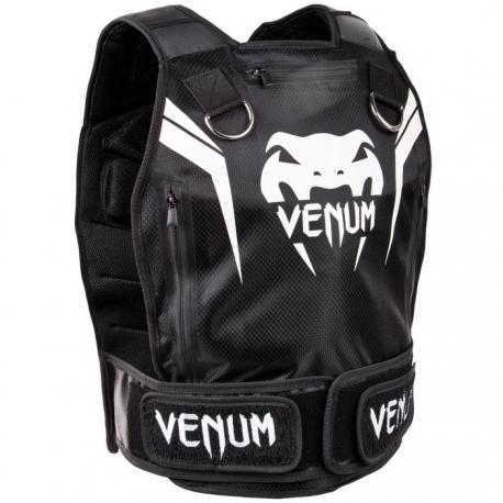 Gilet lesté Venum Elite - 10 Kilos - Noir/Blanc
