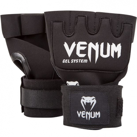 Sous-gants Venum Gel Kontact - Noir / Blanc