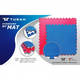 "Tatami Tusah officiel ""WT"" (0.8m*0.8m* 2.5cm)"